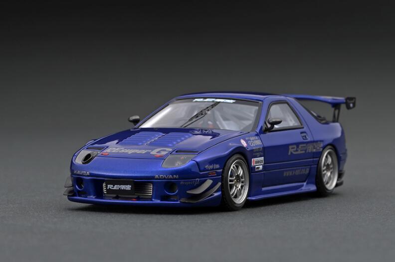 送料無料でお届けします 1 43 Mazda RX-7 お求めやすく価格改定 FC3S RE Amemiya IG2139 model 4573448891395 Blue ignition イグニッションモデル