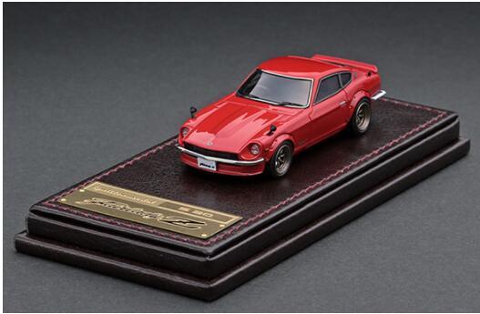 正規認証品!新規格 1 64 Nissan Fairlady Z S30 イグニッションモデル 4573448893108 手数料無料 Red model ignition IG2310