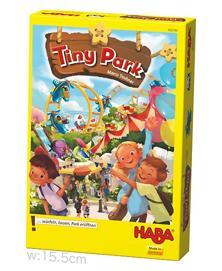 賽の印揃えてパズル片施設を敷く タイニーパーク Tiny Park 日本語版 HABA 新作 大人気 4010168230061 230061 すごろくや 日本メーカー新品