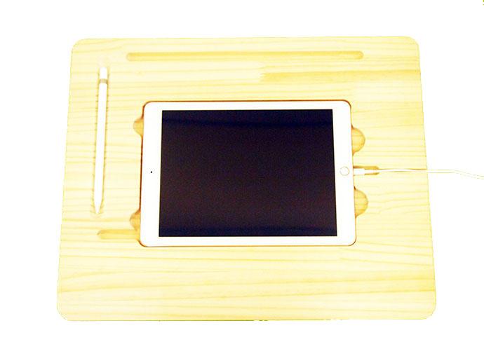 iPad Pro用 スタンド 木製 9.7インチ用