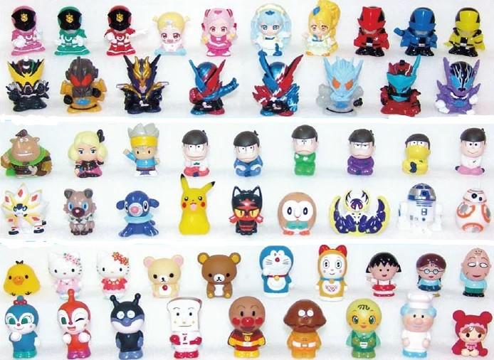 すくい人形100ヶ取り混ぜ(かわいい豆人形)【縁日・お祭り用品・模擬店・販売】