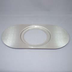 長丸型アダプター(トステム、クリナップ等)(上下2枚、パッキン付き)
