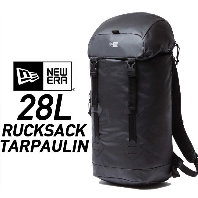 ニューエラ バックパック ターポリン NEWERA RUCKSACK [28L] 《TARPAULIN》11404168 リュック ラックサック バッグ デイパック 鞄 カバン bag 2017SS 防水 【15P】