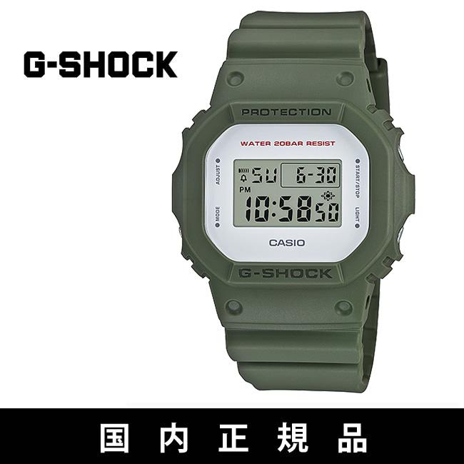 カシオ G-SHOCK [DW-5600M-3JF] KHAKI ジーショック ウォッチ 腕時計 CASIO gshock【WK】