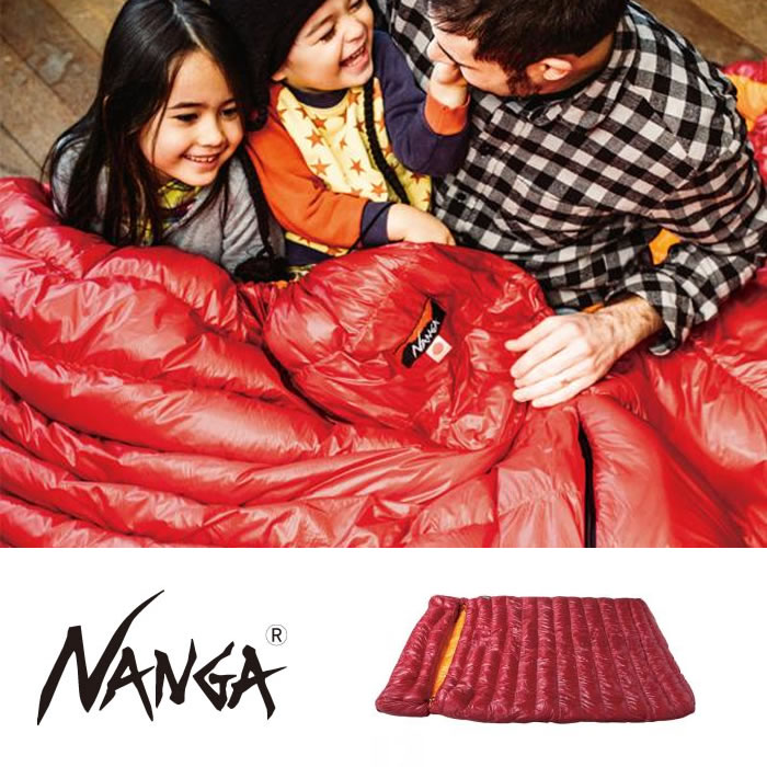 ナンガ シュラフ [ ラバイマバッグ ] W400STD NANGA ダウンシュラフ 寝袋 アウトドア キャンプ スリーピングバッグ [0606]