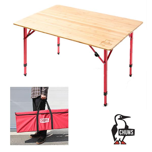 チャムス アウトドアテーブル CHUMS (CH62-1207) BAMBOO TABLE 100 バンブーテーブル 100 [送料別]