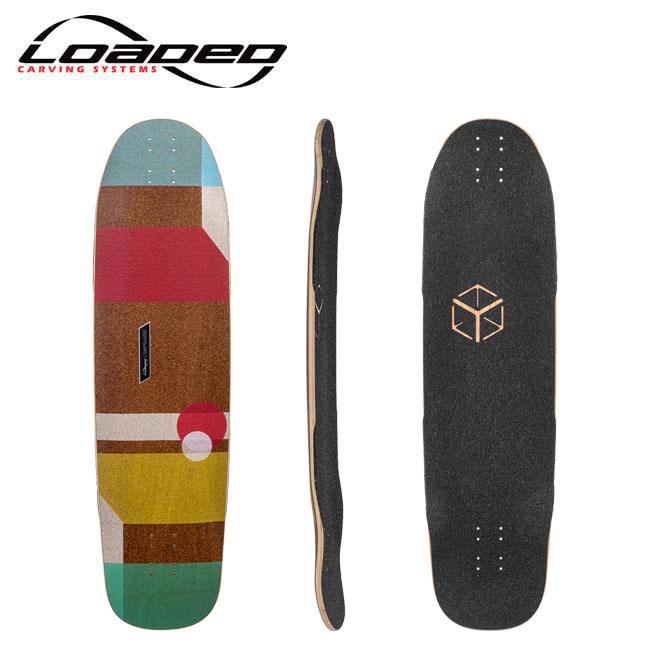 ロングスケートボード LOADED ローデッド CANTELLATED TESSERACT [デッキオンリー]キャンテレーテッドテセラクト skate スケート skateboard スケートボード deck ロンスケ sk8 lsk8