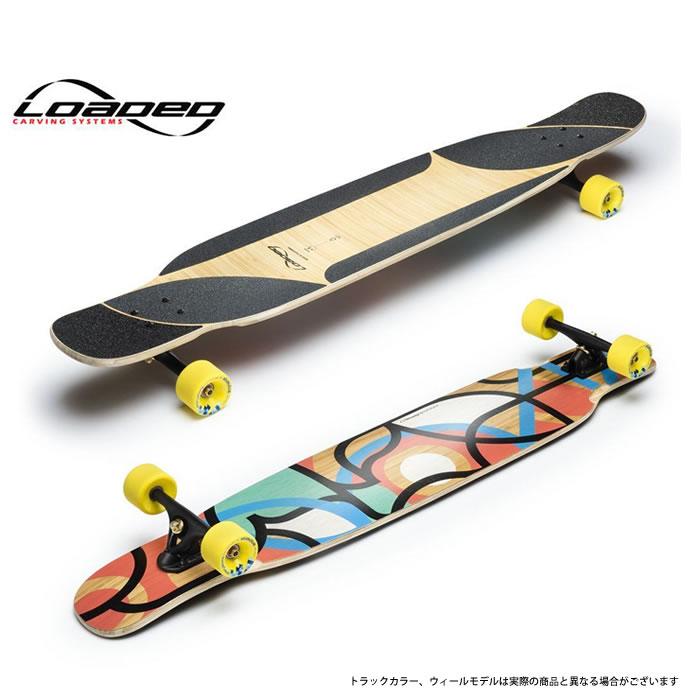 ローデッド ロングスケートボード LOADED [ BHANGRA V2 (COMPLETE)/paris V3] コンプリート バングラ V2 skateboard スケートボード ロンスケ sk8 lsk8 [0503]