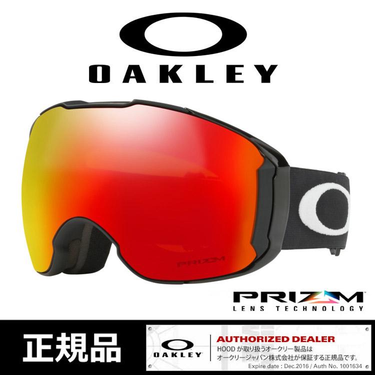 オークリー ゴーグル エアブレイク OAKLEY 2018 [707801] AIRBRAKE XL M.Blk Prizm Torc プリズムレンズ スペアレンズ付き スノーボード スノボ スキーゴーグル snowboard ski goggle ジャパンフィット [1010]
