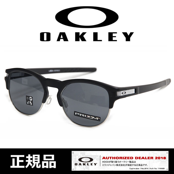 オークリー サングラス OAKLEY [ 9394-0152 ] LATCH KEY M.BLK P.GREY ラッチ EYE SIZE 52[0606]【SPS】【TX】【WK】