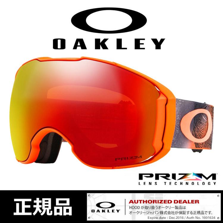 オークリー ゴーグル OAKLEY [ 7078-22 ] AirBrake XL /MYSTIC FLOW RETINA ORGPRIZM スノーボード スノボ スキーゴーグル goggle [1101]