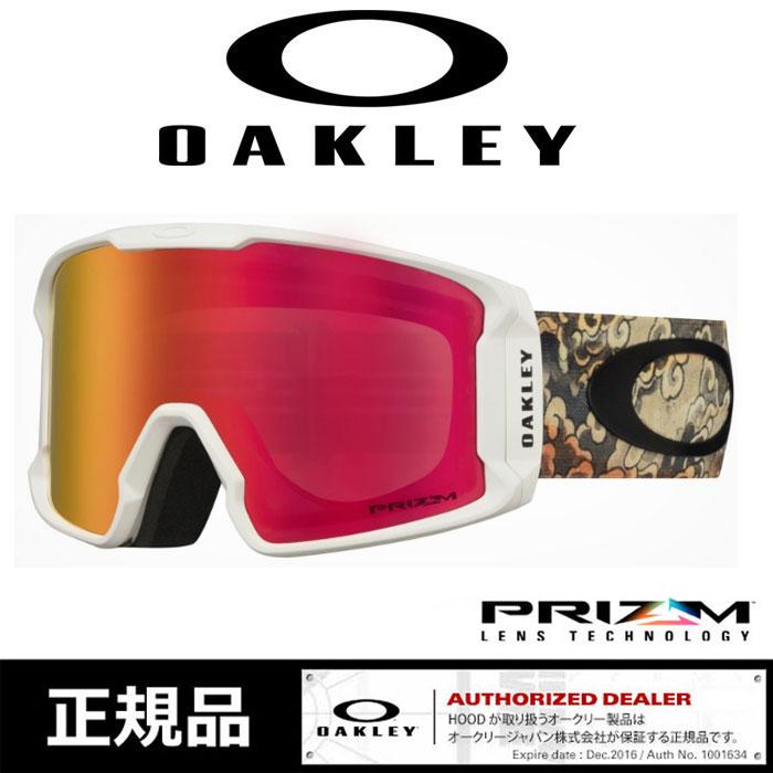 オークリー ゴーグル プリズム OAKLEY [ 7070-54 ] LINE MINER KAZE KOKUBO スノーボード スキー goggle [0930]