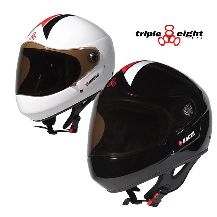 トリプルエイト レーサーヘルメット triple eight [ T818R ] RACER HELMETS スケート BMX [0601]【SPS03】