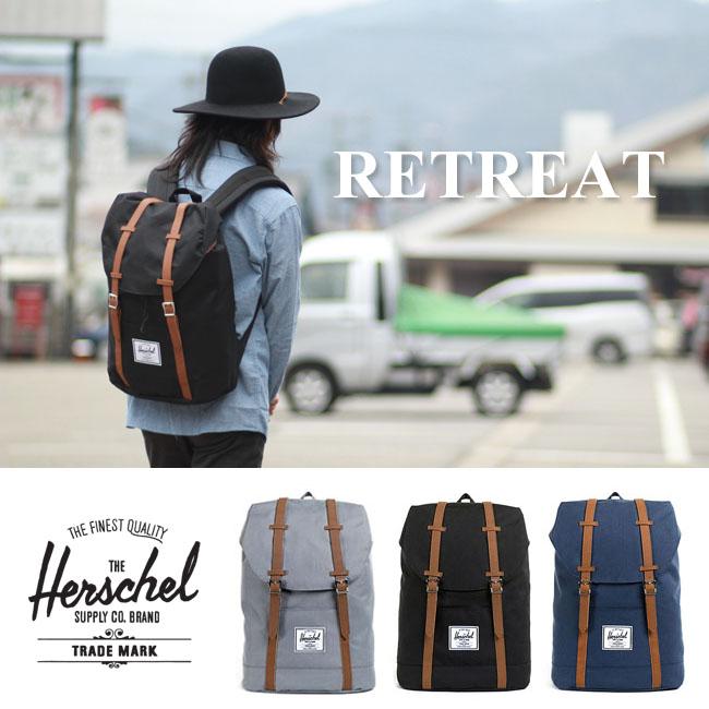Herschel Supply ハーシェル 《 RETREAT 》[19.5L]リュック バック バックパック ハーシェルサプライ メンズ レディース【WK】