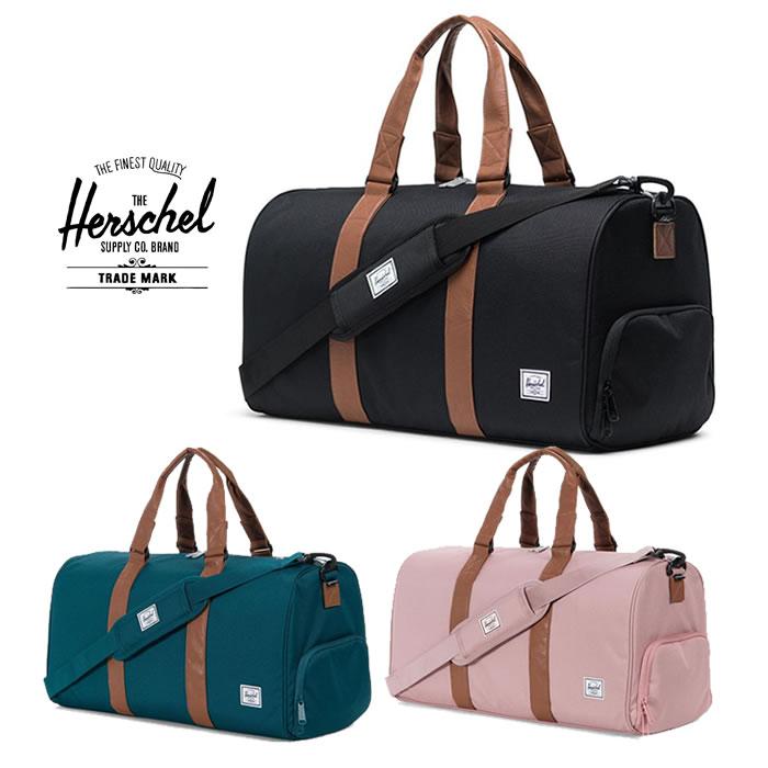 ハーシェル ダッフルバッグ Herschel [ NOVEL MID ](10351)ボストンバッグ カバン [1215]