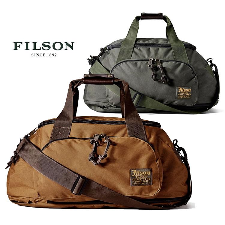 フィルソン バッグ FILSON [#19935] DUFFLE PACK [40L] ダッフルパック ボストンバッグ ダッフルバッグ リュック バックパック カバン 鞄