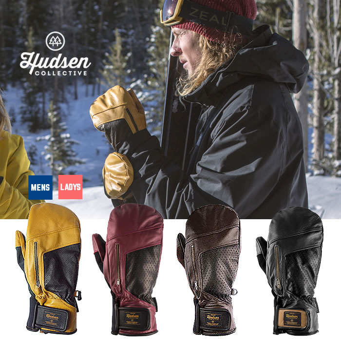 【お買い物マラソン!エントリー等で最大P38倍】ハドソン スノーボードグローブ Hudsen collective [ HC-12H ] Calvin Mitt (ミトン) メンズ レディース スノボ スキー グローブ [1101]