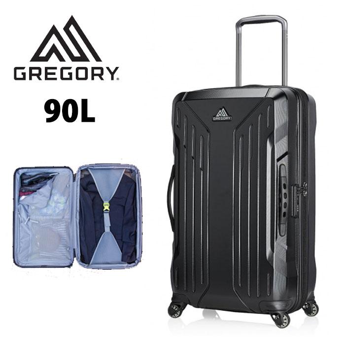 グレゴリー スーツケース GREGORY [ クアドロプロ 30 ] A.BLACK ハードケースローラー キャリーバッグ トラベル [1005]