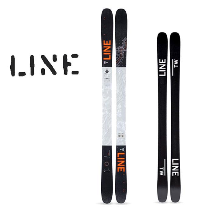 ライン スキー 板 LINE 19-20 [ TOM WALLISCH PRO SKI ] トムウォリッシュ プロ 161cm 171cm ラインスキー [0915]