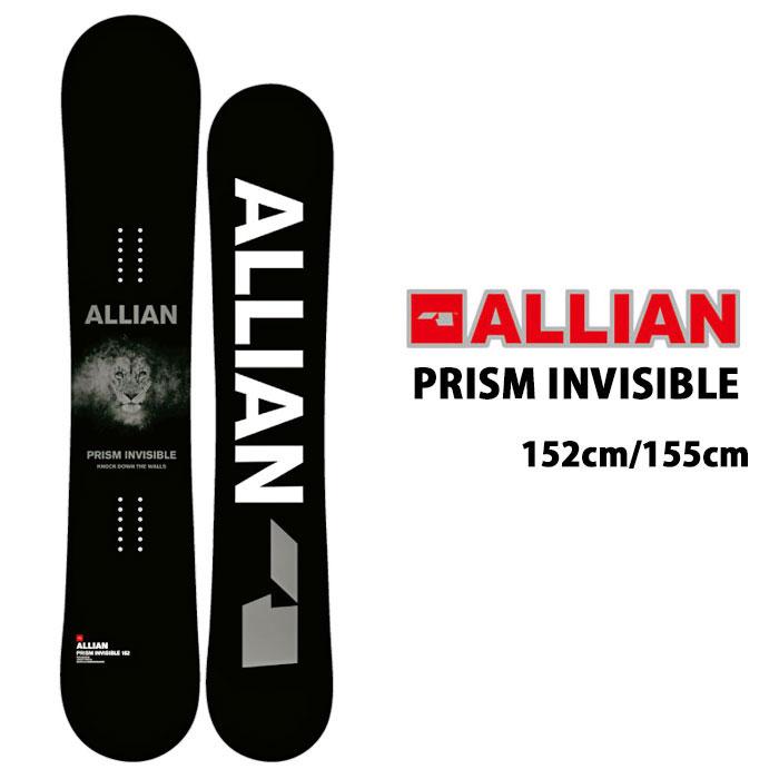アライアン スノーボード ALLIAN [ PRISM INVISIBLE ] 152cm 155cm スノボ 板 [0105]