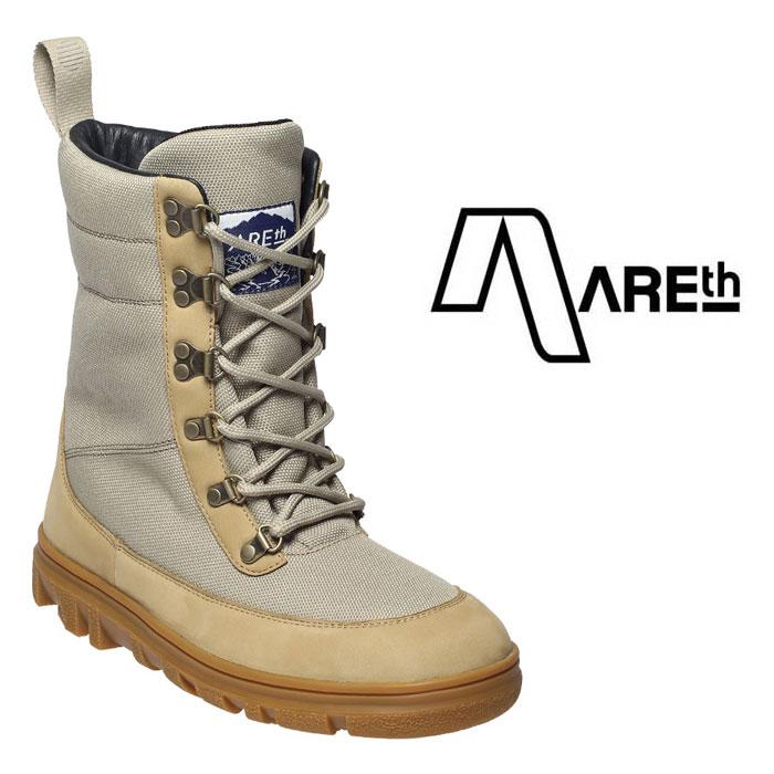 スノーブーツ アース AREth [ MORGENROT/DESERT ] スノースケート ブーツ 防水 保温 靴 [0105]【SPS06】