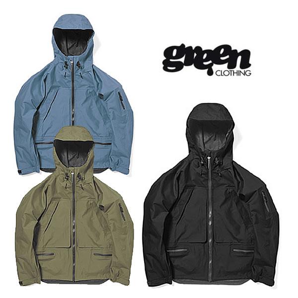 グリーンクロージング スノー ジャケット 緑 CLOTHING [ OGA JACKET ] スノーウェア アウター スノボ スキー [0105]