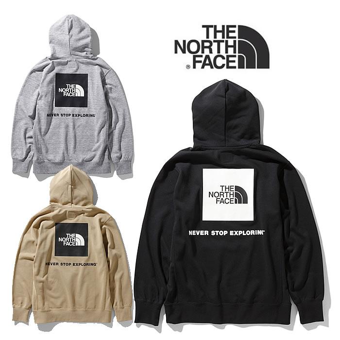 ノースフェイス パーカー THE NORTH FACE [ NT12034 ] Back Square Logo Hoodie バックスクエアロゴフーディ [0125]