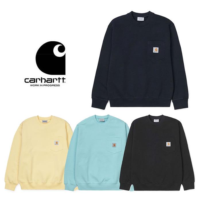 カーハート ダブリューアイピー トレーナー Carhartt WIP [ POCKET SWEATSHIRT ] ポケット スウェットシャツ (I02768) [0320]【P10】