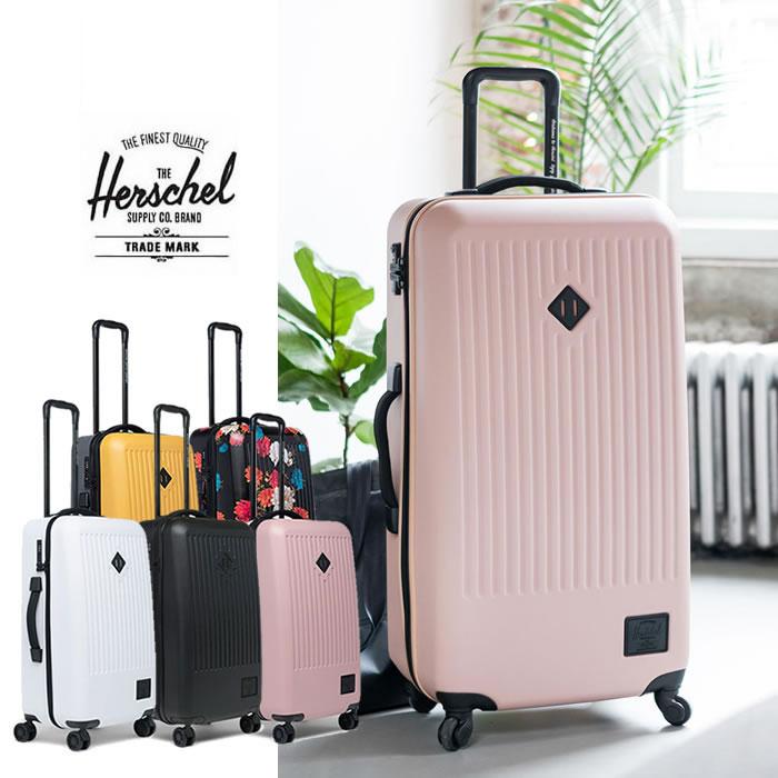 ハーシェル キャリーケース Herschel [ TRADE MEDIUM ](10603)スーツケース ハーシェルサプライ 旅行バッグ [0615]
