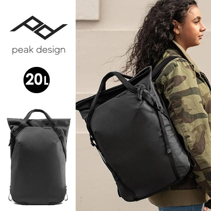 ピークデザイン エブリディトートパック 20L Peak Design (BEDTP-20-BK-2) トートバッグ カメラバッグ [0105]