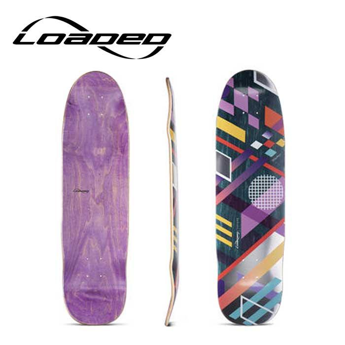 ローデッド ロングスケートボード(デッキ) LOADED [ COYOTE DECK ] skateboard complete スケートボード deck ロンスケ sk8 lsk8 [0505]