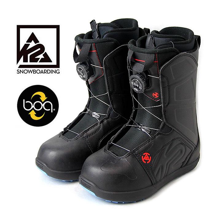 【お買い物マラソン!エントリー等で最大P38倍】K2 スノーボードブーツ RAIDER RENTAL (BLK) スノボ boots メンズ レディース[1101]