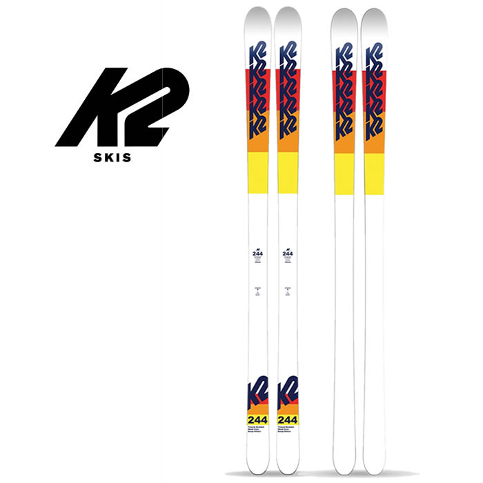 K2 スキー 板 244 SKI 163cm 173cm [1030]