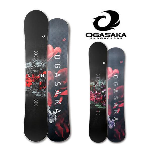 オガサカ スノーボード 板 19-20 Ogasaka [ CT-M ] 148/152/154 スノボ snowboard [1215]