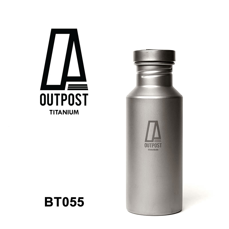 Outpost Titanium [BT055] COLOSSUS TI WATER BOTTLE/CAP