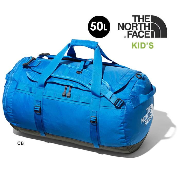 ノースフェイス キッズ ダッフルバッグ THE NORTH FACE [ NMJ81800 ] K NYLON DUFFEL 50L ナイロンダッフル