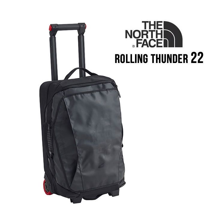 【P最大40倍決算SALE】ノースフェイス キャリーバッグ THE NORTH FACE [ NM81810 ] ROLLING THUNDER 22 ローリングサンダー22インチ 旅行バッグ [0920]