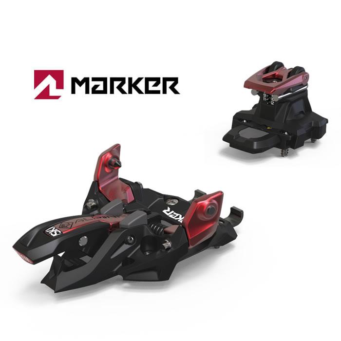 マーカー スキービンディング MARKER [ ALPINIST 12 ] BLK/RED 18-19