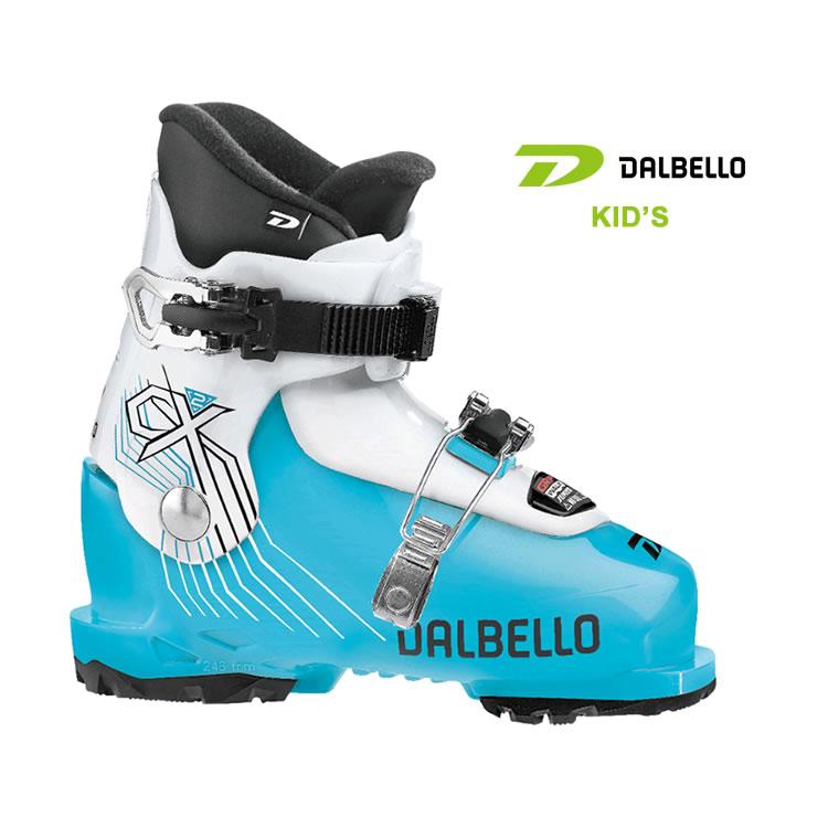 ダルベロ キッズ スキーブーツ DALBELLO [ CX 2.0 ] GW JR (GRIP WALK Junior) BLUE/WHT [1110]【SPS03】