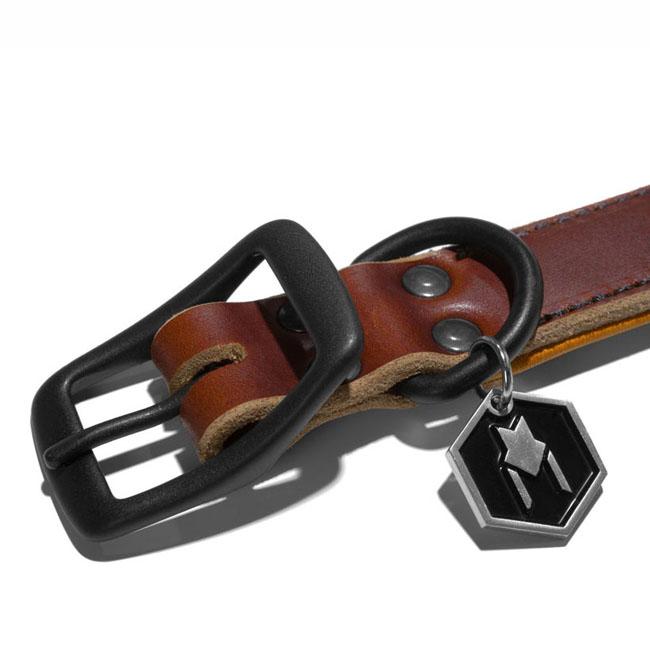 首輪 犬 犬首輪 WOLFGANG MAN & BEAST ウルフギャング HORWEEN COLLAR 【Ssize/小型犬用】HC-002-2 レザーカラー [MADE IN USA] 首輪 くびわ 20P