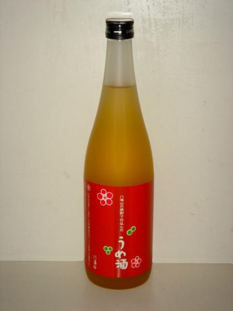 よろしく千万の原酒で仕込んだ梅酒 新潟県:信越 AL完売しました リキュール 720ml 梅酒 日本最大級の品揃え 八海山の焼酎で仕込んだうめ酒