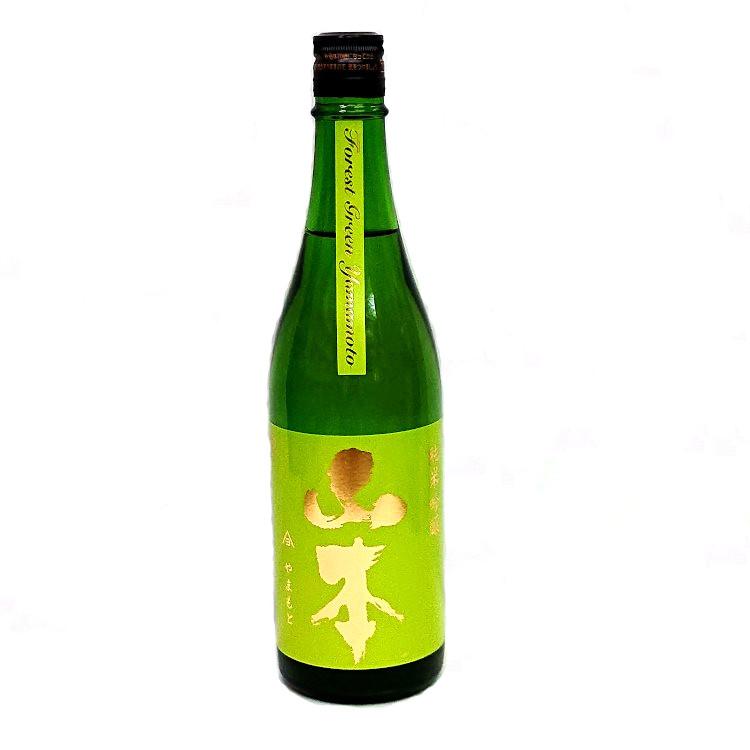 在庫一掃売り切りセール 秋田県産の美郷錦を55%まで精米し醸しました 山本 当店は最高な サービスを提供します 純米吟醸 フォレストグリーン 720ml ギフト 美郷錦 日本酒