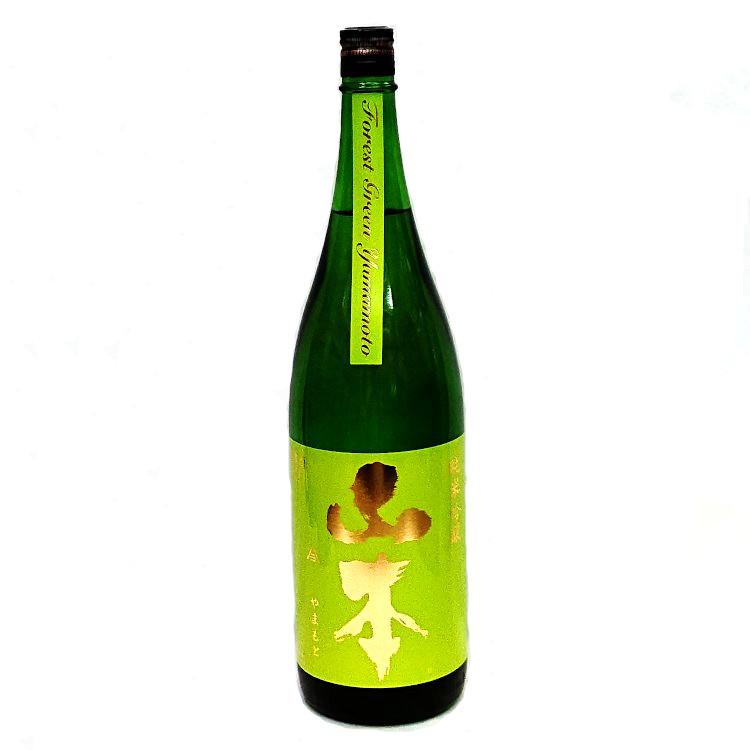 秋田県産の美郷錦を55%まで精米し醸しました 山本 純米吟醸 フォレストグリーン 高い素材 美郷錦 敬老の日 送料無料 新品 ギフト 1800ml