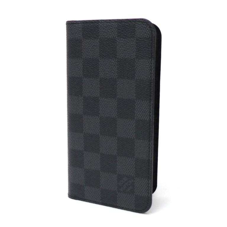 【新品】ルイヴィトン iPhone XS MAX iPhoneケース N60218 ダミエ・グラフィット ヴィトン アイフォンケース スマホケース(44781)