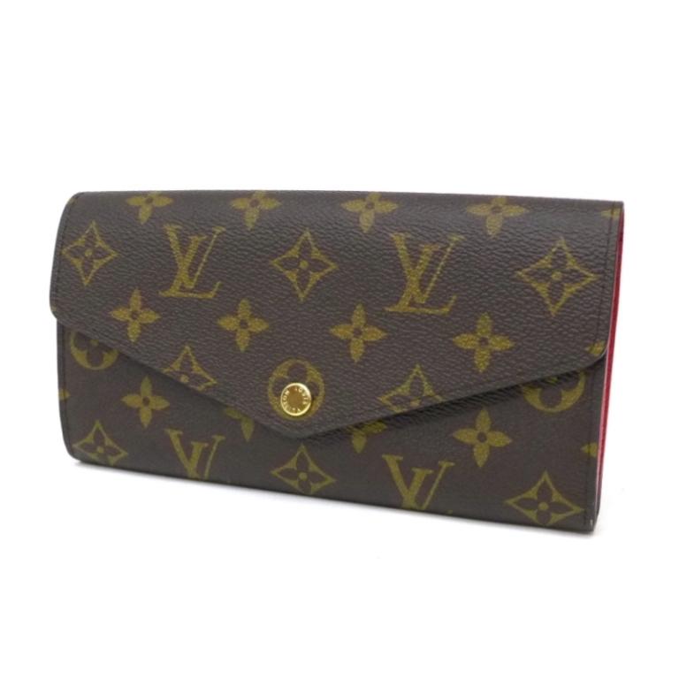 【新品】ルイヴィトン 長財布 ポルトフォイユ・サラ M62236 モノグラム コクリコ ヴィトン 財布(42780)