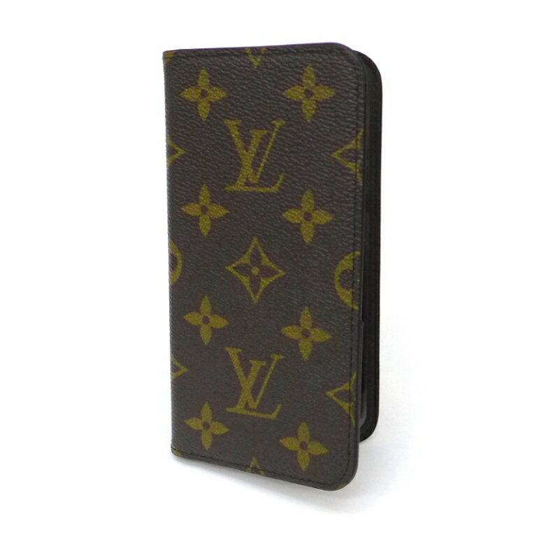 ルイヴィトン iPhone X XS ケース M63443 モノグラム マロン ヴィトン アイフォン ケース iPhoneケース 新品(44010)