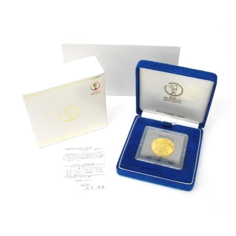 金貨 H14 FIFAワールドカップ 1万円金貨プルーフ 記念貨幣(44538)