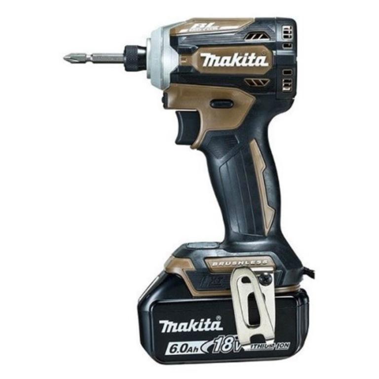 マキタ makita 充電式インパクトドライバ 18V 6Ah TD171DGXAB オーセンティックブラウン(47674)