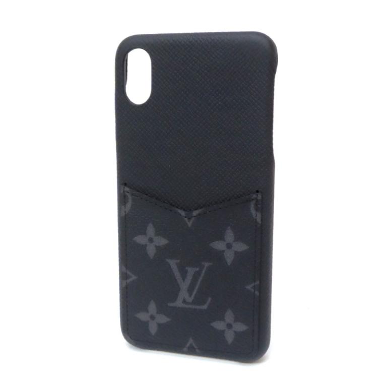 【最大3万円オフクーポン配布中!】【新品】 ルイヴィトン iPhone ケース バンパーXS MAX M67428 エクリプス アイフォンケース レア ヴィトン スマホケース ブランド(47561)