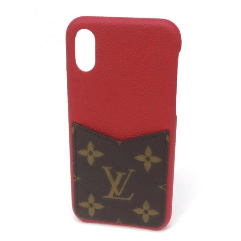 【最大3万円オフクーポン配布中!】【新品】 ルイヴィトン iPhoneケース バンパーXS M68894 モノグラム スカーレット ルイ・ヴィトン アイホンケース アイフォンケース スマホケース ブランド(50905)